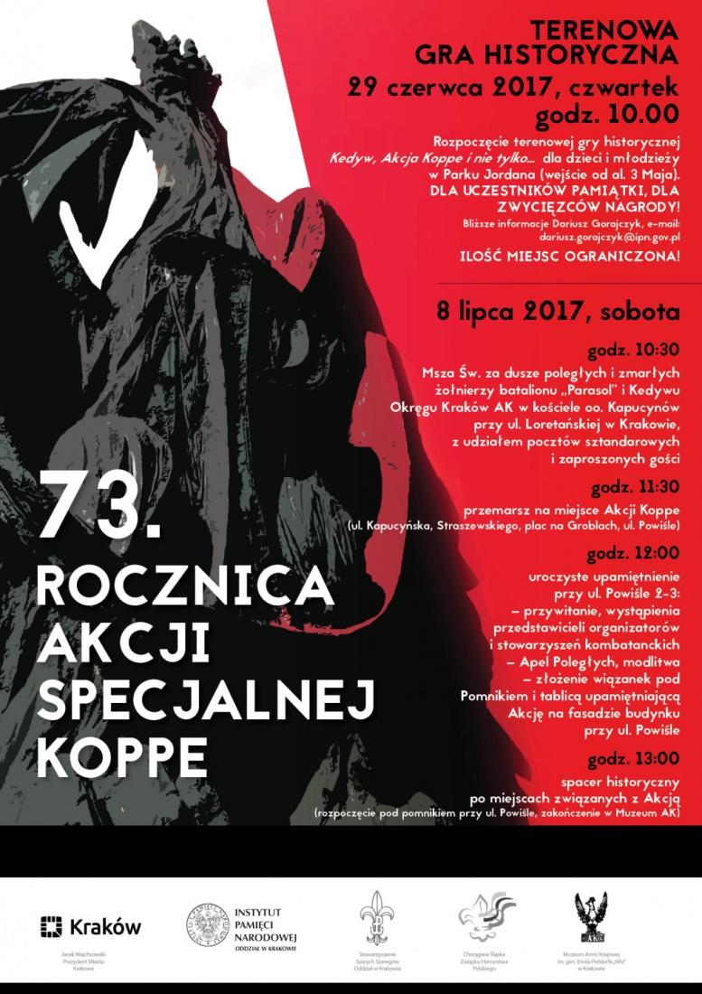 73. rocznica Akcji Specjalnej Koppe